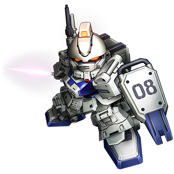 ":【""HGUC RX-79[G]Ez-8 EZ8敢达""】、【""MG RX-79[G]Ez-8 EZ8敢达""】、【""HCM RX-79[G]Ez-8 EZ8敢达""】等等,实在是数不胜数。在这里我们特别推荐和《SD敢达先驱的荣耀》一致的SD比例的扭蛋【""进化战士NEXT RX-79[G]Ez-8 EZ8敢达""】,"