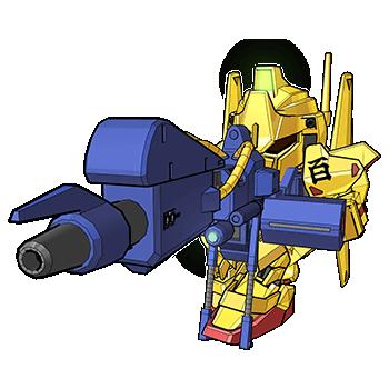 作为夏亚在Z时期的机体,金闪闪的百式出现在了几乎所有的敢达游戏产品当中,其中包括了时下非常热门的【《Gundam Breaker 3》】(俗称:【高达破坏者3】)、【《Gundam EXVS Force》】(俗称:【高达极限进化】)、在【《SD Gundam Online 2: Next Evolution》】(俗称:【SDOL2】)中自然也有登场。
