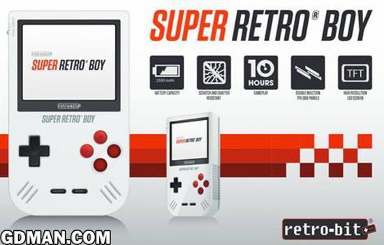 国外厂商公布全新怀旧掌机:Super Retro Boy
