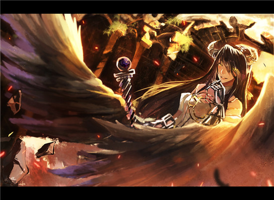 [ Overlord ] 纯白恶魔 雅儿贝德美图福利合集