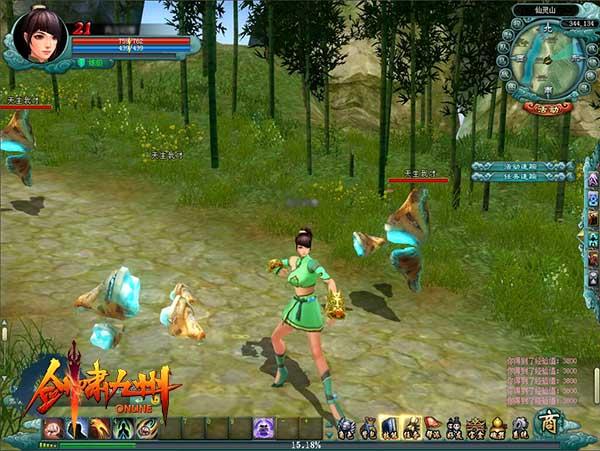 《剑啸九州》线上游戏的体验不可能如此英霸