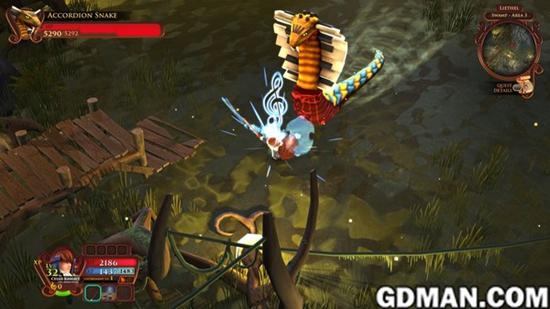 音乐RPG游戏《AereA》预告片及上市日期公布