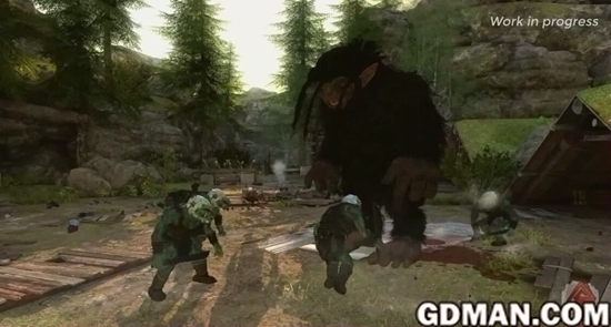 次世代新游《巨魔与我》公布 同长毛怪打野战