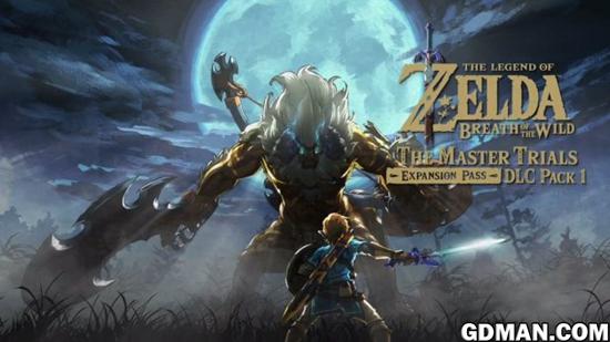 《塞尔达传说:荒野之息》首个DLC视频演示