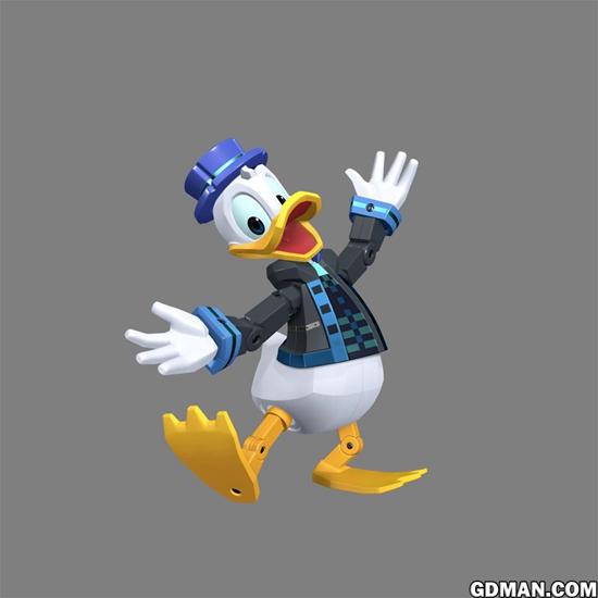 迪士尼宣布推出《王国之心3》人物手办模型