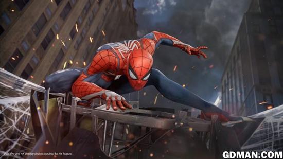 PS4版《蜘蛛侠》幕后花絮与实际游戏画面展示