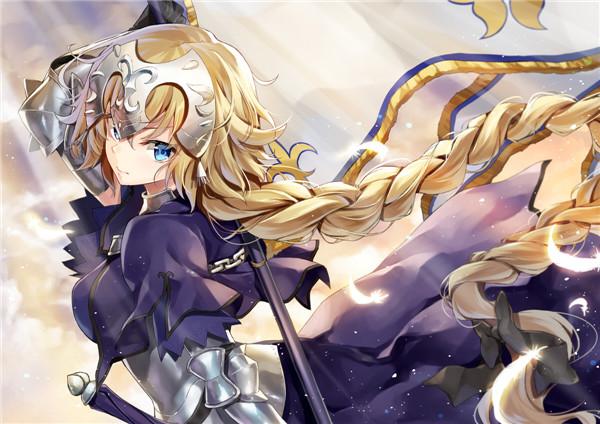 《Fate/Apocrypha》贞德·达尔克福利美图