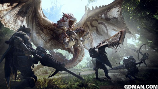《怪物猎人:世界》视频展示装甲套装与女猎人
