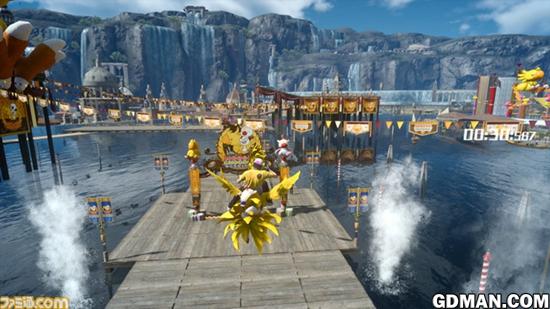 《最终幻想15》新内容详情 陆行鸟大狂欢来临