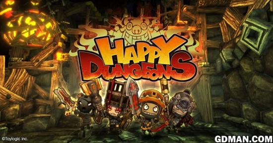 《欢乐地牢》公布PS4版本发售日期与上市预告