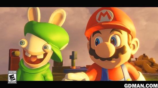 《马里奥和疯狂兔子:王国大战》预告片