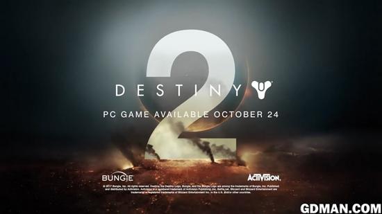 《命运2》PC版月底免费公测 支持4K画质