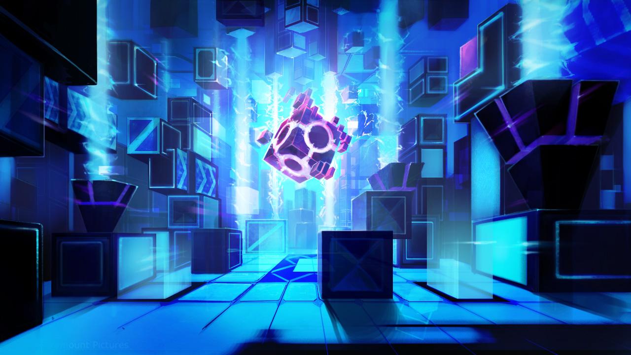 魔方原画,充满科技感的原画也是与英雄联盟完全不同的,安卓与ios的玩家们快戳官网进行预约吧