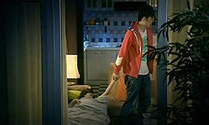 曾小贤在爱情公寓里